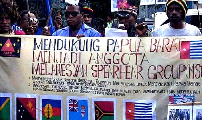 Mahasiswa demo tuntut Papua merdeka (Ilustrasi). Foto: Bramantyo/Okezone