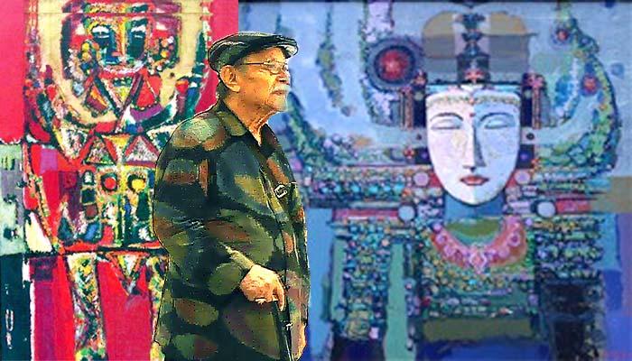 Mengenang Abas Alibasyah, Sang Maestro Pelukis Abstrak Indonesia.
