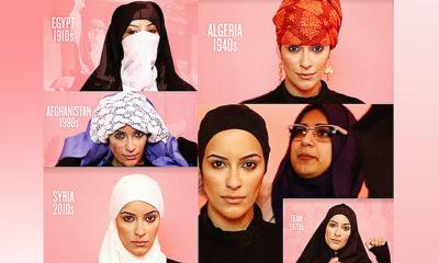 Seratus tahun model jilbab dan hijab dalam satu menit