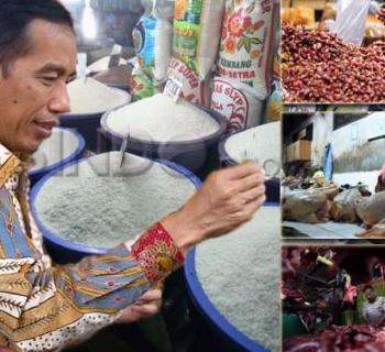 Jokowi Minta Harga Daging Sapi, Beras dan Minyak Goreng Turun. Istimewa