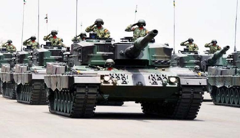 entara Nasional Indonesia Angkatan Darat telah menerima 50 unit tank tempur utama atau main battle tank jenis Leopard II yang dipesan dari Jerman. (Foto: Istimewa)