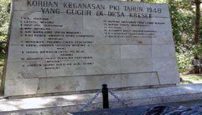 Museum Korban Pembantaian PKI tahun 1948. (Foto: Istimewa)