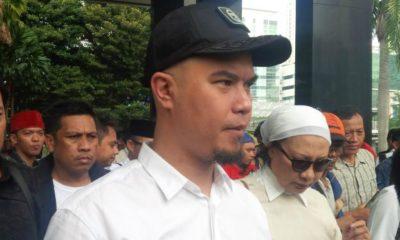 Musisi Ahmad Dhani batal menggelar konser bertajuk 'Panggung Rakyat Tangkap Ahok' di Gedung KPK/Foto via Liputan6