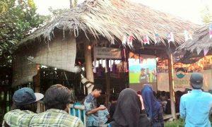 Acara peluncuran single lagu Senandung Anak Bangsa di Rumah Belajar Kagem, Kamis (27/6)/Ilustrasi Nusantaranews / Foto Aceng