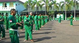 Walaupun bulan puasa Ramadhan, tidak ada alasan bagi Prajurit Kodim 0506 Tgr untuk latihan Yongmoodo/Foto: tniad.mil.id