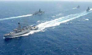 Kapal Perang TNI AL di Perairan Natuna amankan Kedaulatan NKRI/Foto Net/Istimewa/Nusantaranews