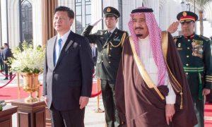 Presiden China Xi Jinping berkunjung ke Arab Saudi/Reuters/Saudi Press Agency/Handout