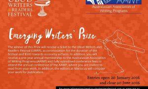 nusantaranews - AAWP-UWRF-Emerging-Writer27-Prize