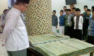 Al-Quran Lontar di Ponpes Multazam Semarang /Ilustrasi Nusantaranews / dok. trenmultazam foto