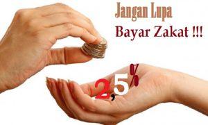 Ilustrasi Bayar Zakat 2,5 persen/NUSANTARANEWS/SelArt