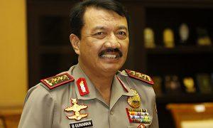 Komjen Budi Gunawan/foto nusantaranews via tribata/Wahyu