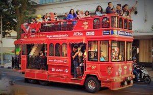 Bus Bandros Kota Kembang Bandung /Ilstrasi SelArt/Nusantaranews/ Foto: myndhara
