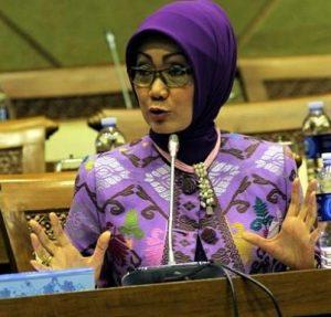 Anggota Komisi XI DPR RI dari fraksi Demokrat, Evi Zainal Abidin
