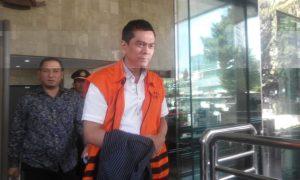 Anggota DPRD DKI Jakarta Mohamad Sanusi usai diperiksa penyidik KPK, Kamis (23/6)/NUSANTARANEWS/Rere Ardiansah