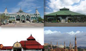 Ilustrasi 4 Masjid Makmur di Indoneisa / Ilustrasi SelArt / Nusantaranews