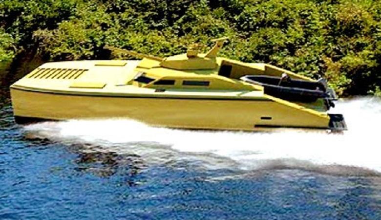"""PT Pindad akan memperkenalkan produk alutsista terbaru """"Tank Boat"""" pada acara Indo Defence 2016. (Foto: Istimewa)"""