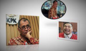 ILUSTRASI: KPK, Nurhadi dan Saipul Jamil/NUSANTARAnews