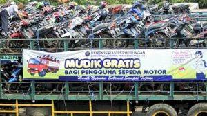 Mudik Motor Gratis Dari Jakarta ke berbagai daerah/Foto NUSANTARANEWS via setkab