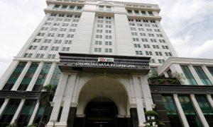 Gedung Otoritas Jasa Keuangan (OJK)/IST