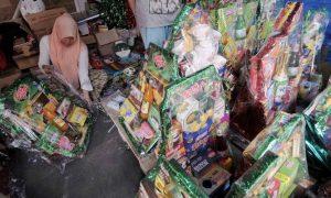 Omzet bisnis parcel jelang lebaran capai Rp.2 juta per hari/ Foto poskota