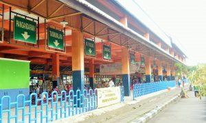 Ruang tunggu di terminal KP Rambutan
