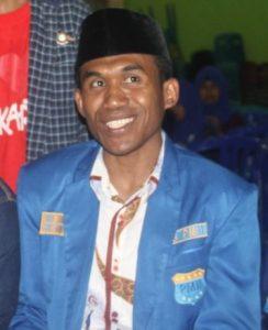 Sekretaris Jendral PB PMII Abdul Haris Wally/Istimewa