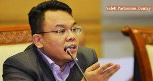 Ilustrasi : Politisi PAN - Saleh Partaonan Daulay/ Nusantaranews /