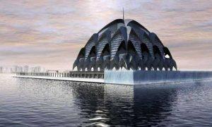 Ilustrasi Masjid Terapung Gedebage