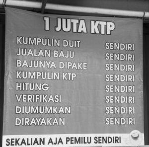 Background jumpa pers Bumi Pospera di Jakarta Timur, Sabtu (25/6)/Foto: Istimewa