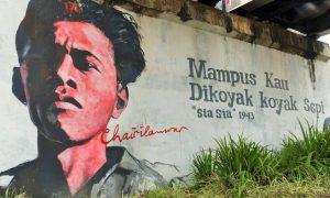Mampus Kau dikoyak-koyak Sepi-//Ilustrasi SelArt/Nusantaranews