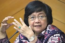 Menteri Lingkungan Hidup dan Kehutanan RI Siti Nurbaya