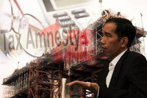 ILUSTRASI: Presiden Joko Widodo dan Tax Amnesty