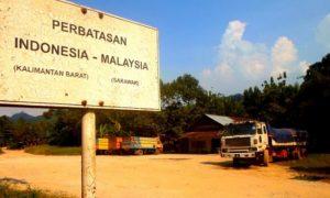 ILUSTRASI: Perbatasan Indonesia dengan Malaysia/Istimewa/Nusantaranews