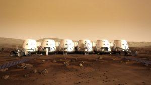 Koloni manusi untuk Mars