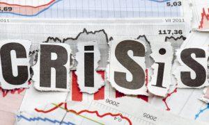 ILUSTRASI/Krisis ekonomi nasional/Ist