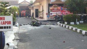 Puing ledakan bom bunuh diri di Surakarta, Jawa Tengah/Foto: Istimewa