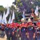 KSPI Unjuk Rasa di depan Gedung MK minta UU Tax Amnesty dicabut / Foto Nusantaranews