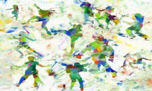 "Ilustrasi: ""Complexity is only the multiplicity of simplicity""/Lukisan Asli karya Peter Milyneux Barbi Leifert via artsartistsartwork"