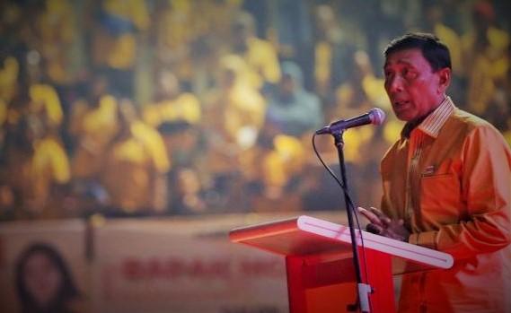 Dok. Wiranto Lantik Pengurus DPD Hanura Jakarta/Foto via liputan6