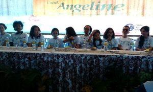 Dokumentasi saat konferensi pers film Untuk Angeline yang diangkat dari kisah nyata tragedi Engeline, di Bali /Foto Nusantaranews (Istimewa)