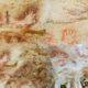 Gambar tangan dan hewan di Gua Tewet, Kawasan Karst Sangkulirang-Mangkalihat/Ilustrasi Nusantaranews/Foto dok. kemdikbud.go.id