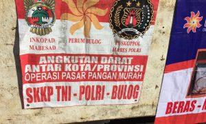Pasar Murah Puskoppol Mabes Polri, Bulog dan Kemdag di Mako Brimob Kelapa Dua, Depok, Senin (4/7)