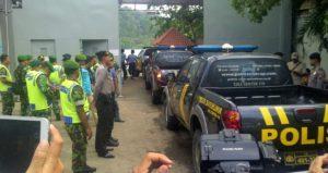 Polisi bersiap-siap mengamankan proses eksekusi di Nusakambangan/Foto: Nino Moebi/Nusantaranews