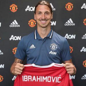 Zlatan Ibrahimovic resmi bergabung Manchester United/Foto via MU