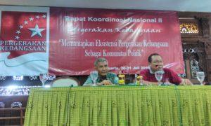 Pengarahan Rakornas II Pergerakan Kebangsaan/Foto: Dok. Nusantaranews.co