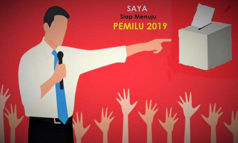 Kader Partai Rebut Posisi Jelang Pemilu 2019/Ilustrasi SelArt/Nusantaranews