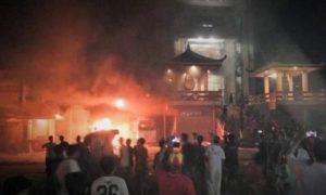 Kronologi Peristiwa Api Berkobar di Kota Kerang Tanjung Balai/Foto Nusantaranews via YouTube