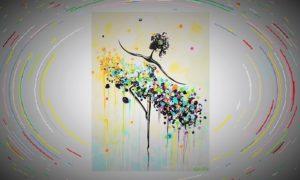 Ilustrasi/Nusantaranews - Lukisan dalam via contemporaryartbychristine.com