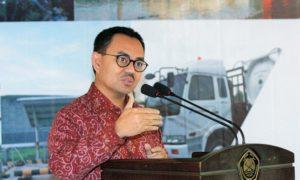 Menteri ESDM Sudirman Said ketika memberikan keterangan Pers/Foto Nusantaranews via suarakarya