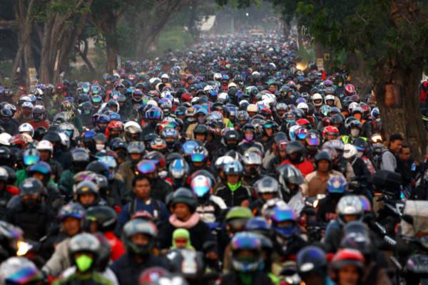 Membeludak/Ilustrasi mudik/Istimewa/Nusantaranews
